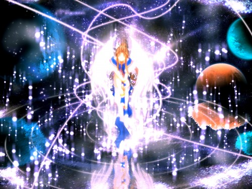 Kousuke Fujishima, Anime International Company, Ah! Megami-sama, Belldandy, Magic Wallpaper