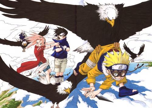 Masashi Kishimoto, Naruto, Uzumaki (Artbook), Naruto Uzumaki, Kakashi Hatake