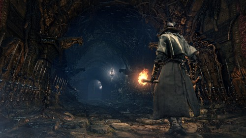 FromSoftware, Sony Computer Entertainment Inc, Bloodborne, The Hunter, Game CG
