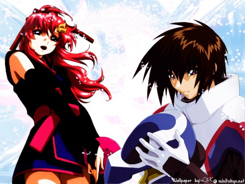 Sunrise (Studio), Mobile Suit Gundam SEED Destiny, Kira Yamato, Haro, Lacus Clyne Wallpaper