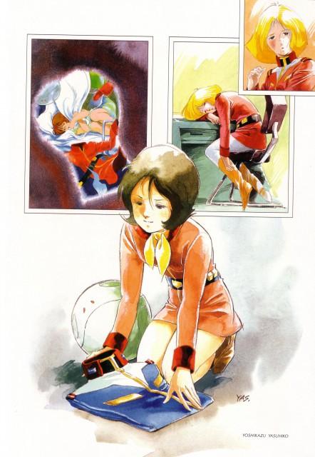 Yoshikazu Yasuhiko, Sunrise (Studio), Mobile Suit Gundam - Universal Century, Sayla Mass, Frau Bow