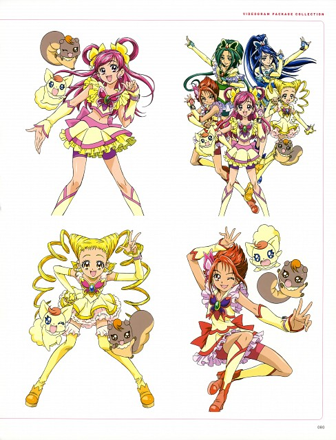 Toei Animation, Yes! Precure 5, Kawamura Toshie Toei Precure Works, Natts, Cure Mint