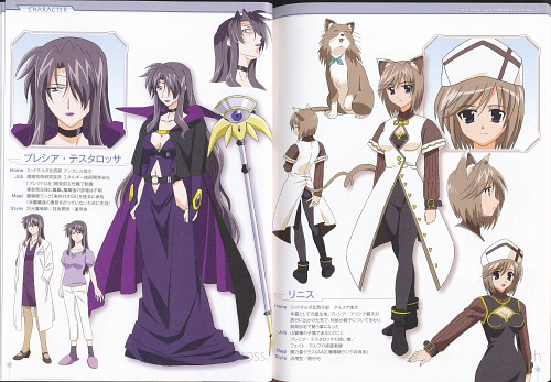 Seven Arcs, Mahou Shoujo Lyrical Nanoha, Rynith, Precia Testarossa, Character Sheet