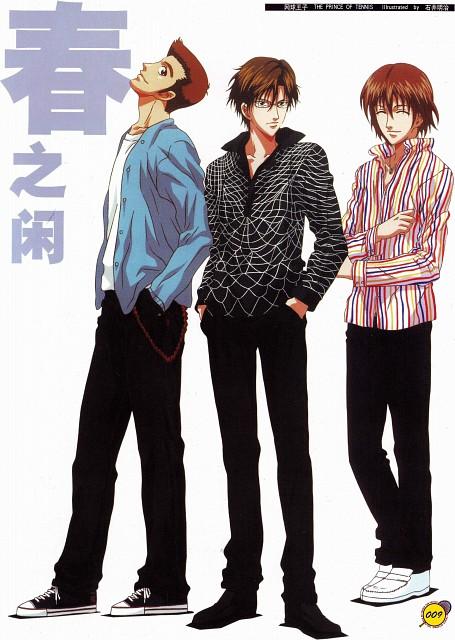 Takeshi Konomi, J.C. Staff, Prince of Tennis, Shusuke Fuji, Takashi Kawamura