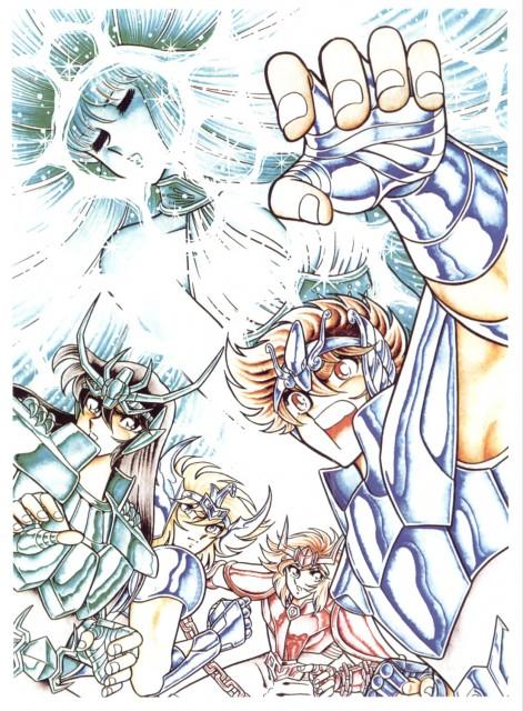 Masami Kurumada, Toei Animation, Saint Seiya, Phoenix Ikki, Saori Kido