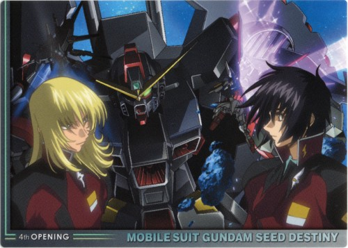 Sunrise (Studio), Mobile Suit Gundam SEED Destiny, Shinn Asuka, Rey Za Burrel
