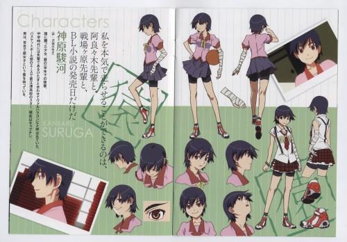 Akio Watanabe, Shaft (Studio), Bakemonogatari, Kanbaru Suruga, Character Sheet