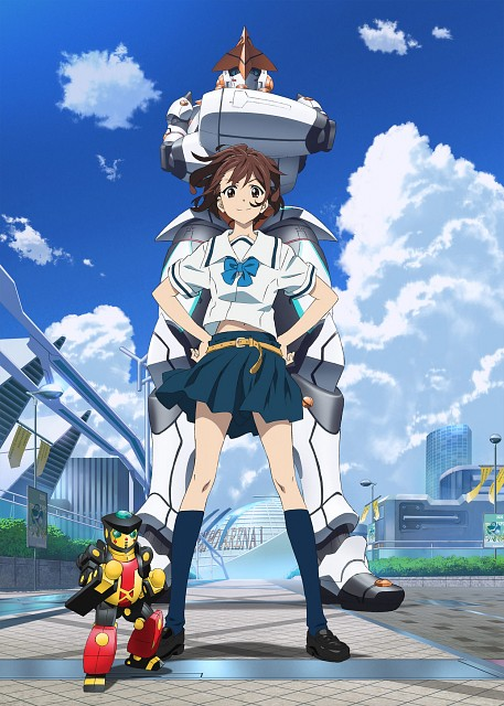 Tomonori Fukuda, 5pb., Production I.G, Robotics Notes, Akiho Senomiya