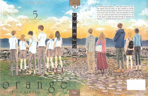 Ichigo Takano, Orange (Series), Hiroto Suwa, Kakeru Naruse, Saku Hagita