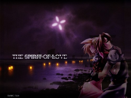 Square Enix, Final Fantasy VII, Cloud Strife, Aerith Gainsborough Wallpaper