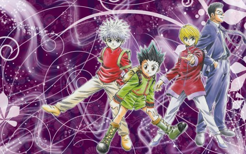 Hunter x Hunter, Killua Zaoldyeck, Gon Freecss, Kurapika , Leorio Wallpaper