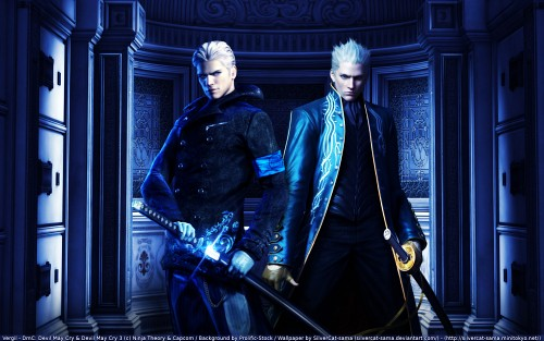 Madhouse, Capcom, Devil May Cry, Vergil Wallpaper
