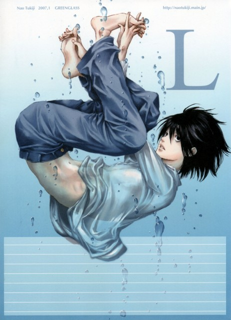 Green Glass, Death Note, L, Stationery, Doujinshi