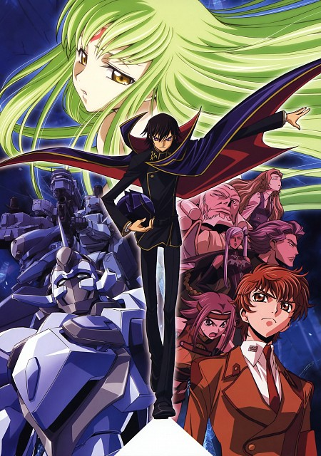 Takahiro Kimura, Sunrise (Studio), Lelouch of the Rebellion, Code Geass Ilustrations Rebels, Charles Di Britannia