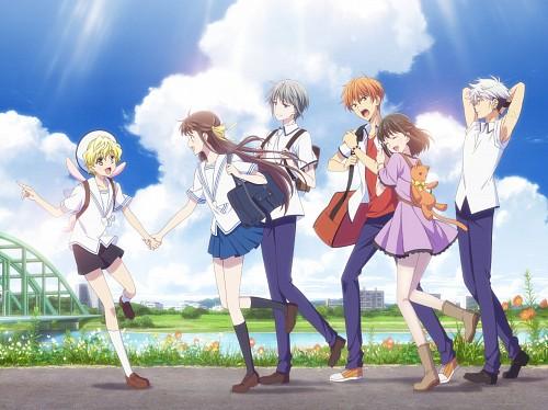 TMS Entertainment, Fruits Basket, Tohru Honda, Momiji Sohma, Kagura Sohma