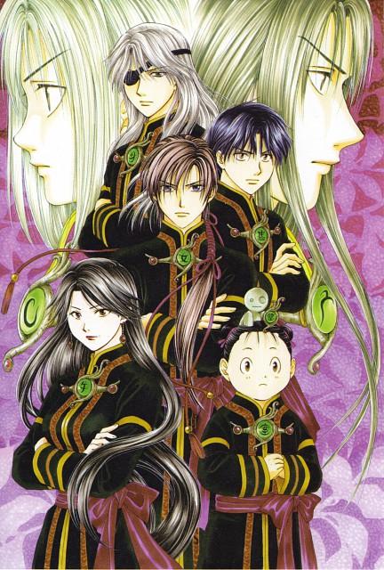 Yuu Watase, Fushigi Yuugi: Genbu Kaiden, Genbu Kaiden 9.5 Official Fan Book, Uruki, Namame