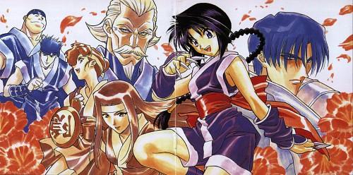 Nobuhiro Watsuki, Rurouni Kenshin, Nenji Kashiwazaki, Kurojou, Omasu