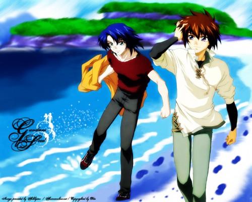 Sunrise (Studio), Mobile Suit Gundam SEED, Athrun Zala, Kira Yamato Wallpaper