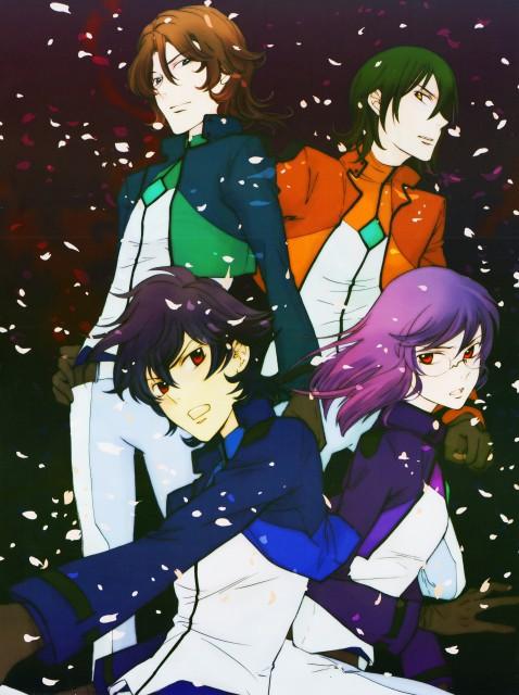 Yun Kouga, Mobile Suit Gundam 00, Lockon Stratos, Allelujah Haptism, Tieria Erde