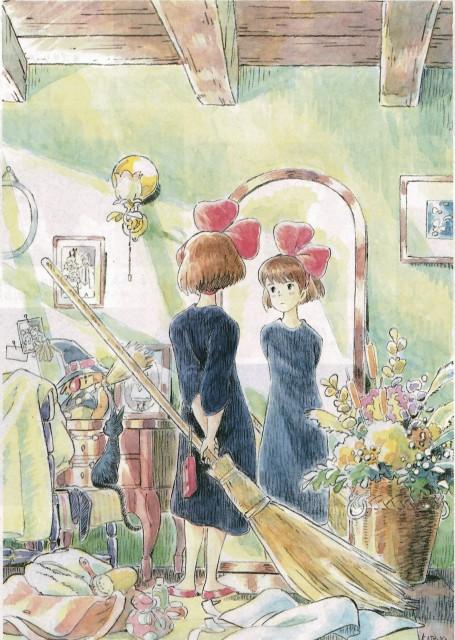 Studio Ghibli, Kiki's Delivery Service, The Art of Kiki's Delivery Service, Jiji (Kiki's Delivery Service), Kiki Okino