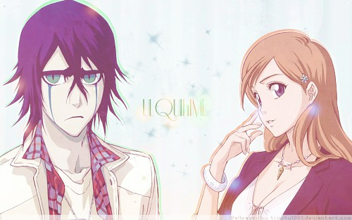 Kubo Tite, Studio Pierrot, Bleach, Ulquiorra Cifer, Orihime Inoue Wallpaper