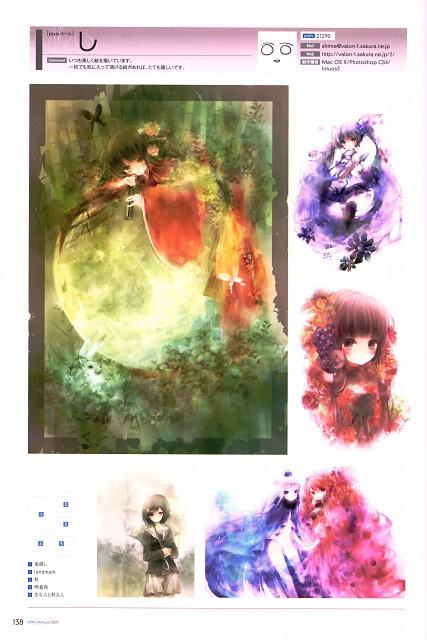 Shimeko, Pixiv Nenkan Official Book 2009, Vocaloid, Miku Hatsune, Pixiv