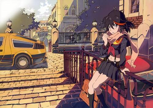 Trigger (Studio), Kill la Kill, Newtype Illustration Calendar 2014, Ryuuko Matoi, Senketsu