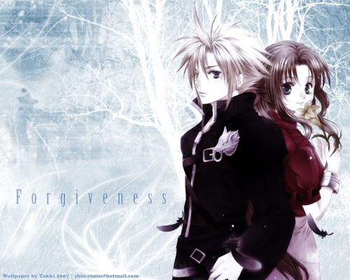 You Kousaka, Final Fantasy VII: Advent Children, Aerith Gainsborough, Cloud Strife Wallpaper