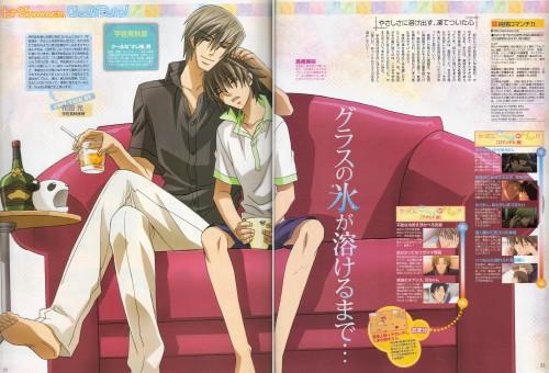 Shungiku Nakamura, Junjou Romantica, Akihiko Usami, Misaki Takahashi, Magazine Page