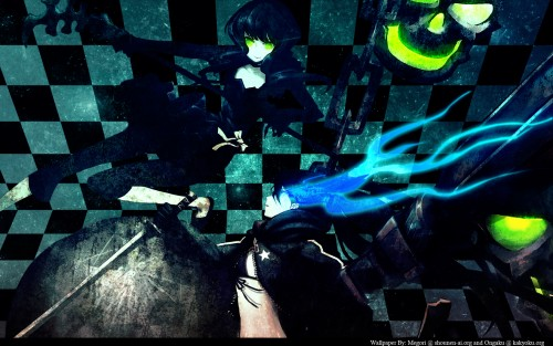huke, Black Rock Shooter, Black Rock Shooter (Character), Dead Master Wallpaper