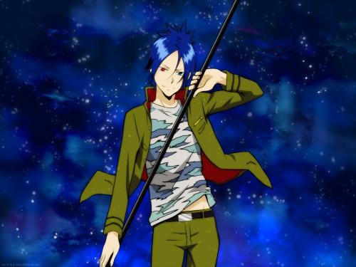 Akira Amano, Artland, Katekyo Hitman Reborn!, Mukuro Rokudo, Vector Art Wallpaper