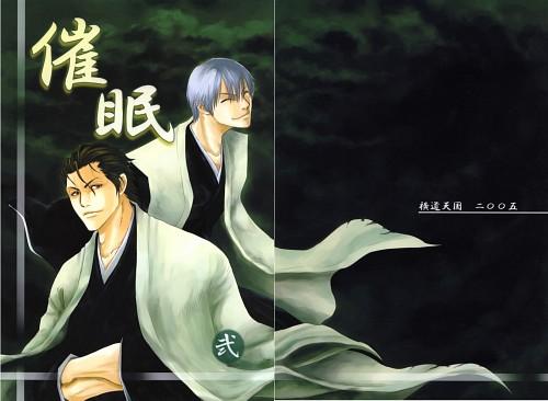 Bleach, Sousuke Aizen, Gin Ichimaru, Doujinshi Cover, Doujinshi