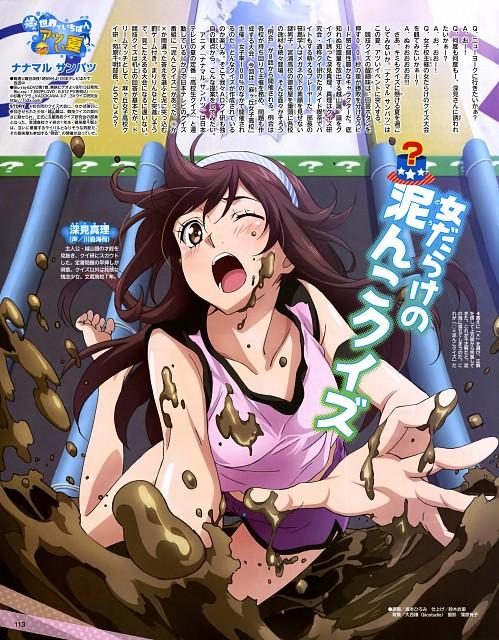 Hiromi Sakamoto, TMS Entertainment, Nanamaru Sanbatsu, Mari Fukami, Animedia