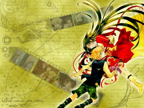 Jun Mochizuki, Xebec, Pandora Hearts, Alice (Pandora Hearts), Oz Vessalius Wallpaper