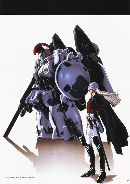 Sunrise (Studio), Mobile Suit Gundam Wing, Zechs Merquise