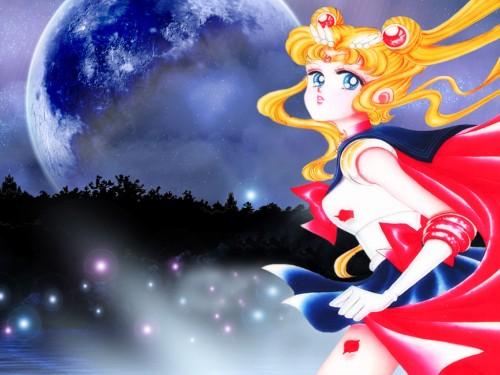 Naoko Takeuchi, Bishoujo Senshi Sailor Moon, BSSM Original Picture Collection Vol. II, Sailor Moon Wallpaper