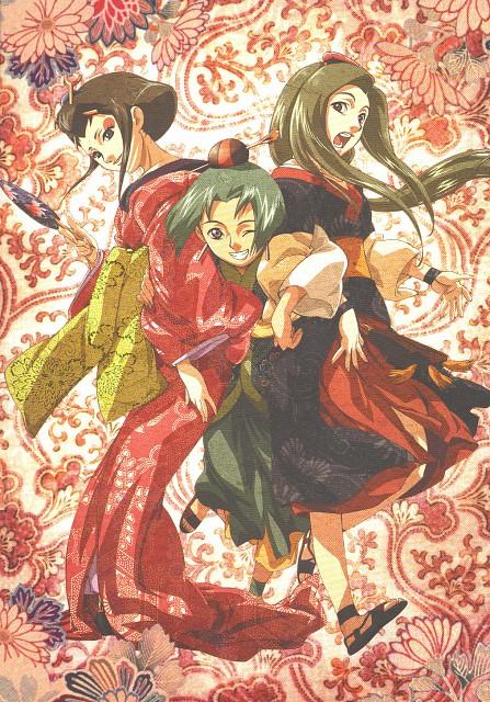Gonzo, Samurai 7, Yukino (Samurai 7), Sanae (Samurai 7), Mizuki (Samurai 7)