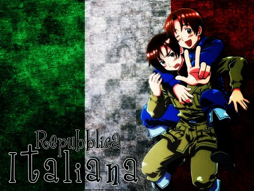 Hidekaz Himaruya, Studio Deen, Hetalia: Axis Powers, Italy Wallpaper