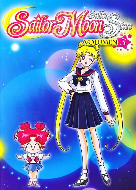 Marco Albiero, Bishoujo Senshi Sailor Moon, Usagi Tsukino, Chibi Chibi, DVD Cover