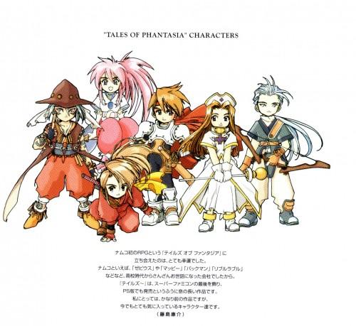 Namco, Tales of Phantasia - The Origin, Tales of Phantasia, Arche Klaine, Mint Adnade