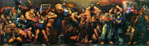 Capcom, Rival Schools, Street Fighter, Mike Bison, Karin Kanzuki