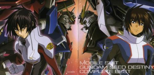 Sunrise (Studio), Mobile Suit Gundam SEED Destiny, Kira Yamato, Shinn Asuka