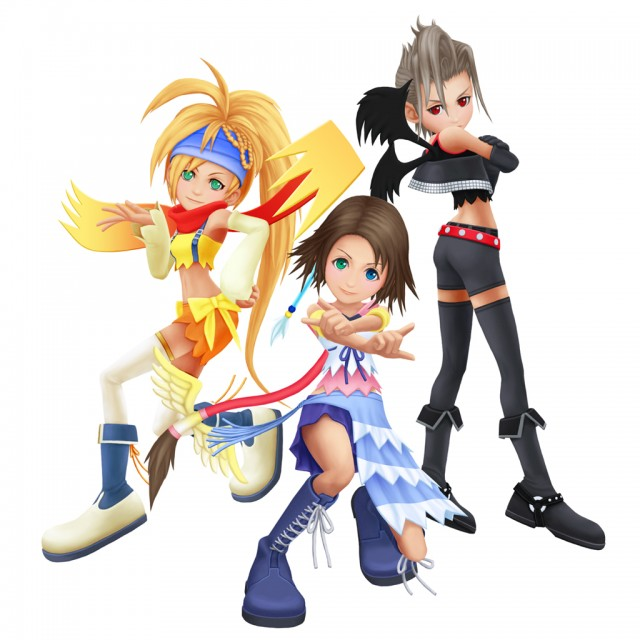 Square Enix, Final Fantasy X-2, Kingdom Hearts, Yuna, Rikku
