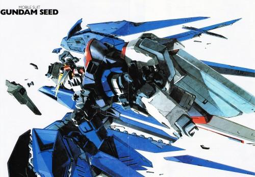 Sunrise (Studio), Mobile Suit Gundam SEED, Pin-up Poster