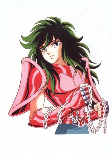 Masami Kurumada, Toei Animation, Saint Seiya, Hikari (Artbook), Andromeda Shun