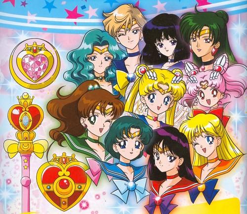 Marco Albiero, Bishoujo Senshi Sailor Moon, Sailor Mars, Sailor Moon, Sailor Mercury