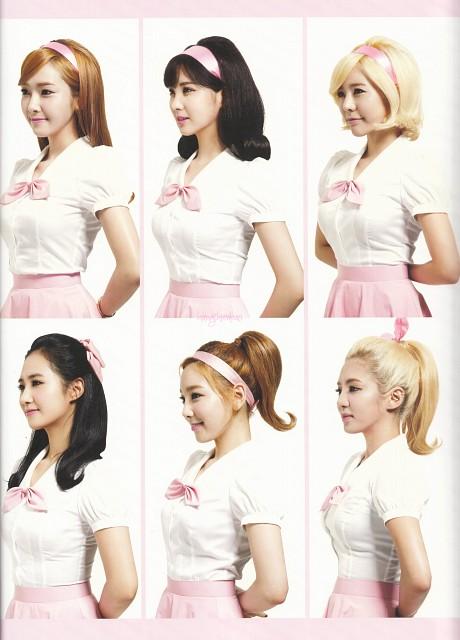 Sunny, Seohyun, HyoYeon, Jessica, TaeYeon