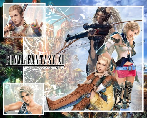 Square Enix, Final Fantasy XII, Balthier, Fran (Final Fantasy XII), Ashe Wallpaper
