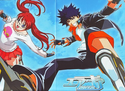 Oh! Great, Toei Animation, Air Gear, Itsuki Minami, Ringo Noyamano