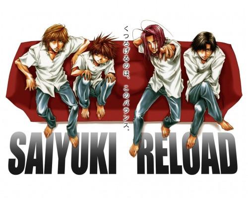 Kazuya Minekura, Studio Pierrot, Saiyuki, Son Goku (Saiyuki), Sha Gojyo